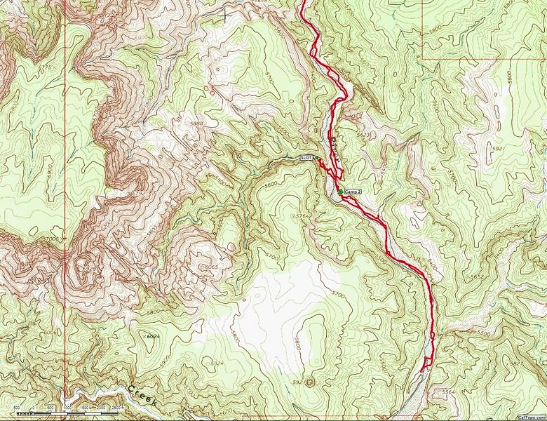 Upper Paria River Map